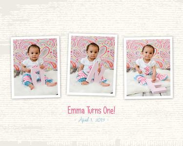 Emma Gaines - 1st Birthday Cake Smash