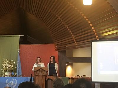 Erica UN hurricane Maria  Award