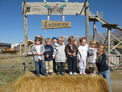 Errol's Preschool goes to Pumpkin Patch