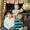 Ethan, Hudson, & Audrey- Christmas 2012 :