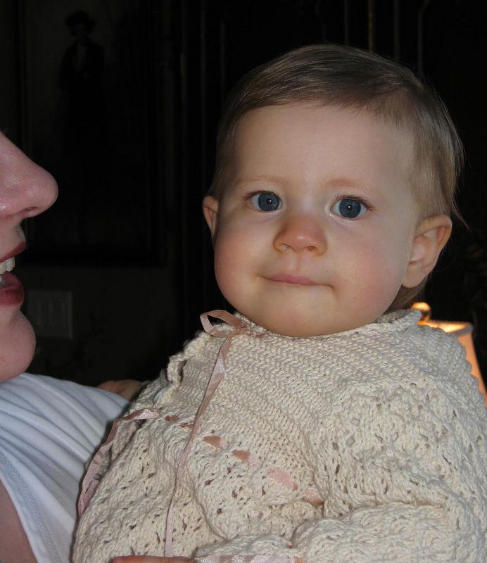 Eva at Grandma & Grandpa Taylor's house in PA -- 03/06.
