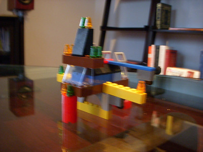 Evan's Lego creations