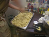 Martin making potato salad.