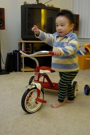 Evan's tricycle
