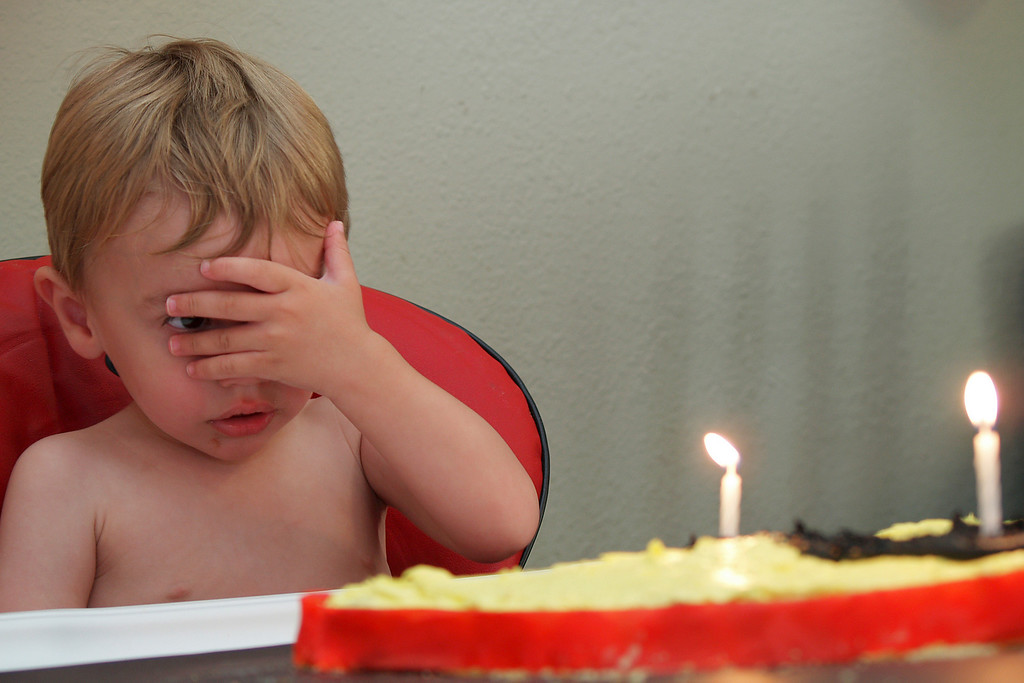 Aren't you a little young to be worried about the number of candles on your cake?