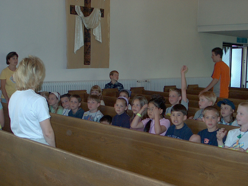 Children in the Pews