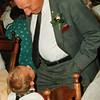 Oom Ab tijdens de bruiloft van Sita en Frans (1993)