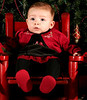 Baby - Christmas Portrait - Cherry Hill, New Jersey