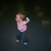 Hannah dancing to Uncle Jerry's bluegrass music!