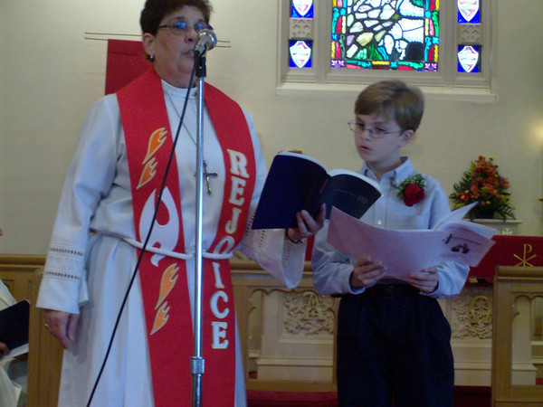 First Communion- Christopher