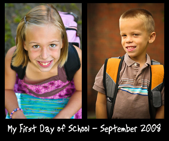 First Day(s) of School - (2008)