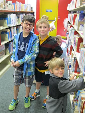 First Grade Visits 2015