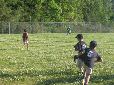first t-ball practice