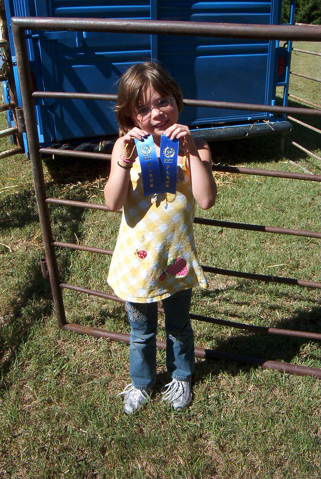 Are two 1st place ribbons too many???