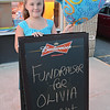 A fundraiser was held for 8-year-old Olivia Lambert at Primetime Pub in Lunenburg on Friday night. Olivia is waiting on a diagnosis of her type of autism and has been raising money to get herself a service dog.  SENTINEL & ENTERPRISE / Ashley Green