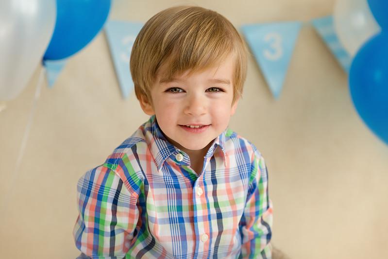 Gavin turns Three