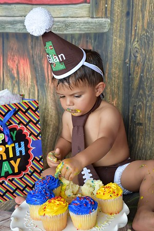 Photo Session of a One Year Old