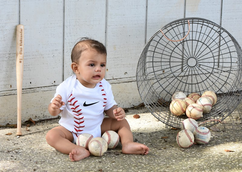 Adorable 6 months old baby Photo Session