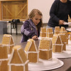 CSU Extension Office's annual Gingerbread House building at the Fred Field multipurpose building