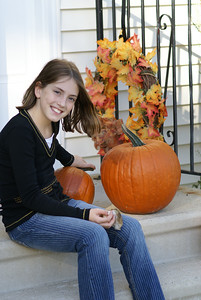 Bea, Fall, Pumpkins, Boston