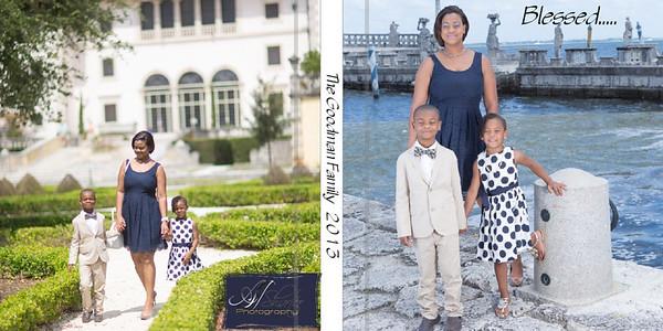 Goodman Family Book Design