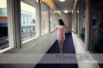 Hallway ballerina