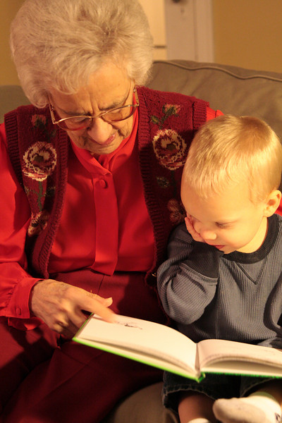 Grandma Vroon & Christian