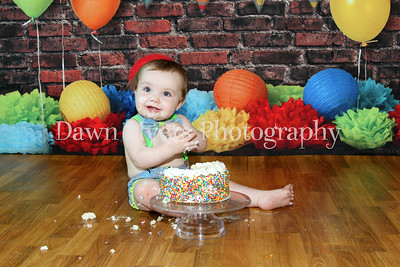 Grant~1st Birthday