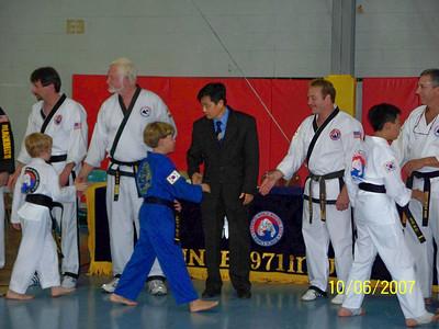 Grayson's Black Belt