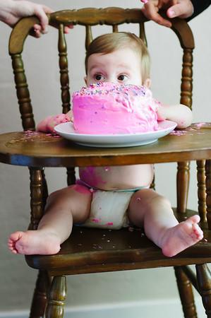 Harper Ellas First Birthday