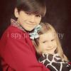 Hayden & Halle Faith- Christmas 2010 :