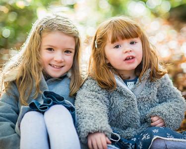 Heidi & Lola - Autumn