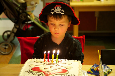 Henry Cummings 4th birthday party