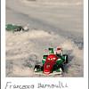 Quand à l'Italie, cest Francsco Bernouli qui va la représentée.... un chassis extrèment bas qui pourrait bien lui poser quelques difficultés sur cette neige molle... histoire à suivre.