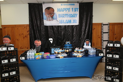 ISLAM JR 1ST BIRTHDAY