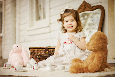 2 Year Tea Party Photo Shoot- Kids Portraits