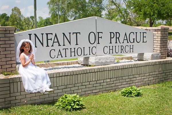 J. Gonzales First Communion