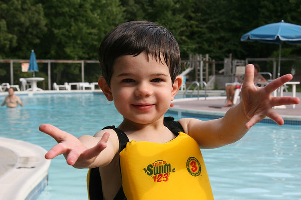 JJ At The Pool