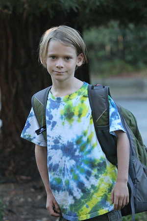 Jacob first day of school