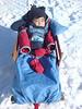 Freezing sleigh ride on the mountain.
