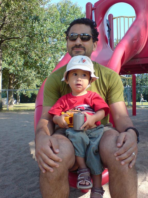 Jaden and Cyane August 2007