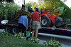 Saying good bye to the tractors