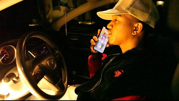 "Phone ""OTW"" Driving Away"