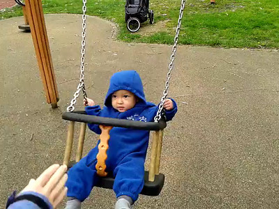 James on swing 5 May 2012