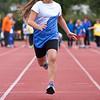 60 meter sprinten door Jantine.