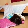 ...uit bed glijden...en gewoon verder slapen...