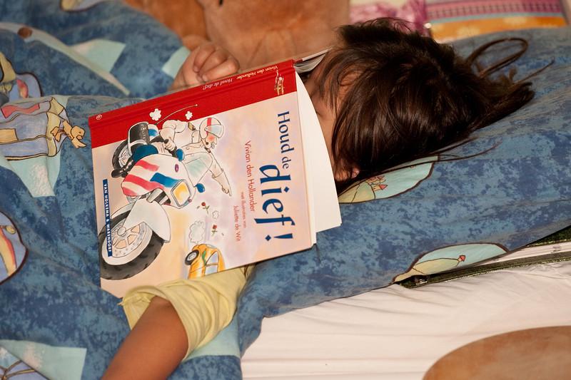 Nog even lezen voor het slapen gaan...