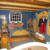 Mickey's Bedroom! Kate just loved that he had a drawer full of gloves.