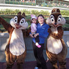 Kate LOVED Chip & Dale but wouldn't get down from my arms.