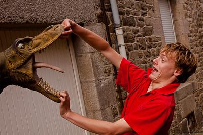 Max à Dinan (Cotes d'Armor)- Août 2010
